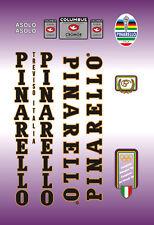 PINARELLO ASOLO FRAME DECAL SET BLACK / GOLD CONTOUR
