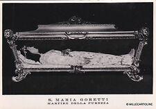 # NETTUNO: S. MARIA GORETTI - MARTIRE DELLA PUREZZA