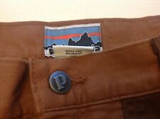 NEW PATAGONIA REGENERATIVE STAND UP MENS SHORTS SIZE 36. WITH POLITICAL MESSAGE