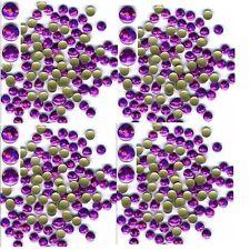 HOLOGRAM Round Nailheads PINK 2mm Hotfix Iron on 1gr