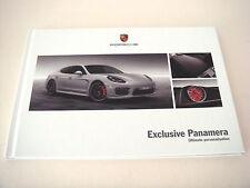 Porsche Panamera. exclusivo Panamera. FOLLETO de ventas de mayo de 2013