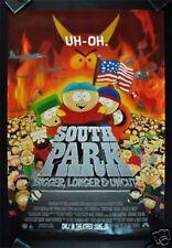 SOUTH PARK * 1SH ORIGINAL DS MOVIE POSTER 1999