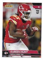 2017 Panini Instant NFL All-Rookie Team Kareem Hunt Rookie Card - 1 of 300