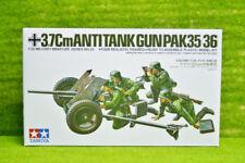 Tanque de Tamiya Segunda Guerra Mundial German 3.7 Cm Anti pistola PAK35/36 Kit de escala 1/35 35035