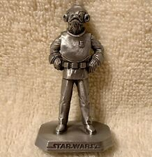 Star Wars Pewter Figure - Admiral Ackbar - Rawcliffe - 969 - 1995 - Oop - New