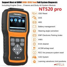 Foxwell NT520 Engine Diagnostic Scanner Tool ABS SRS Code Reader For BMW MINI