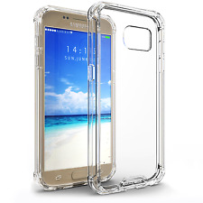 for Samsung Galaxy S7 Case BUDDIBOX Scratch Resistant Clear Bumper Cover