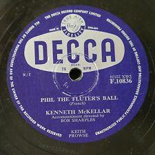 78rpm KENNETH McKELLAR phil the fluters ball / ring the blue bell of scotland
