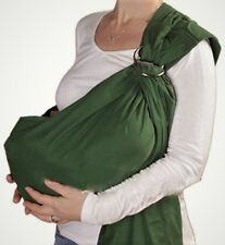 Handmade Usa Baby Wrap Ring Sling Maya Carrier Cotton U choose color Adjustable