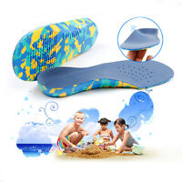 Children Kids EVA Arch support Plantar Fasciitis Orthotic Insoles Shoe new style