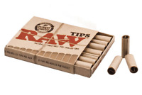 Authentic RAW Natural Unrefined Pre Rolled Rolling Card Tips Roach