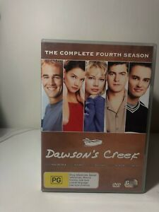 DVD - Dawson's Creek: The Complete Fourth Season 4 / Series Four - FREE POST #P1