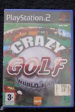 PS2 : CRAZY GOLF WORLD TOUR - Nuovo, risigillato ! Ore ed ore di divertimento !
