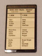 """Wersi Memory Card ROM 1 Rhythm """"Standard"""" für CD Orgeln"""
