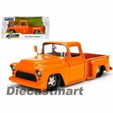 Voitures, camions et fourgons miniatures oranges Pickup 1:24