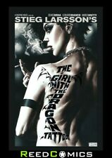 GIRL WITH THE DRAGON TATTOO GRAPHIC NOVEL New Paperback Collects Volumes 1 and 2