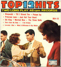 """DIVERS """"12 TOP HITS"""" POP ROCK AND ROLL DOUBLE 50'S EP PROMENADE A-54-10"""