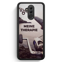 Meine Therapie Angeln Angler Huawei Mate 20 Lite SILIKON Hülle Cover Spruch S...