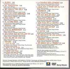 DVD PROMO ONLY CLIPS&LIVE 80'S Gloria Trevi PELO SUELTO zapatos viejos A GATAS