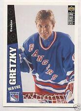 Wayne Gretzky 96-97 UD Choice Jumbo Insert Hockey Card
