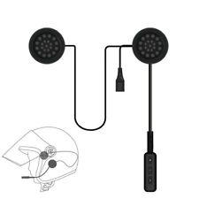 Bluetooth 4.1 Helmet Headset Speaker Accessory Motorcycle Interphone Music GPS