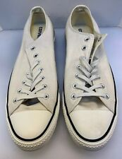 Converse Men 13 US Chuck Taylor All Star Low CT OX Turtledove Sneakers