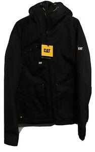 Caterpillar  Mens Deluxe GREY Jacket Polyester  WATERPROOF XL RRP-£79.99
