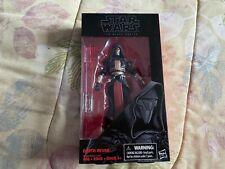 "Star Wars Hasbro 6"" Black Series Darth Raven Action Figure"