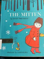 The Mitten by Alvin Tresselt 1964 Hardcover Book Vintage!