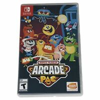 Namco Museum Arcade Pac (Nintendo Switch, 2018) Brand New Plastic Removed