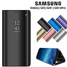 COVER per Samsung Galaxy S20 / Plus / Ultra FLIP CUSTODIA ORIGINALE MIRROR VIEW