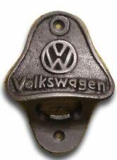 Cast Iron /VOLKSWAGEN Bottle Opener/Wall Mounted/Car/Rustic/Bar/ VW