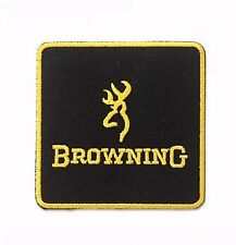 Browning Embroidered Iron-On Sew-On Patch - NEW