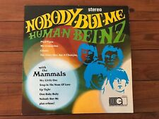 The Human Beinz/The Mammals ‎– Nobody But Me 1967 Gateway Glp 3012 Vinyl Nm-