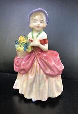 "New listing Vintage Royal Doulton Figurine ""Cissie�. Hand Painted Bone China."