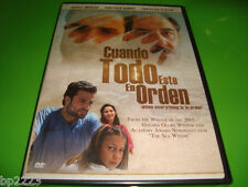 CUANDO TODO ESTE EN ORDEN DVD, Daniel Guzman-Santiago Ramos  BRAND NEW, FREE S&H