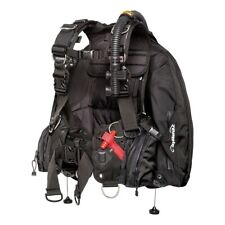 Zeagle Ranger Durable LTD Scuba Diving BC BCD w/ Rip Cord System SMALL All Black