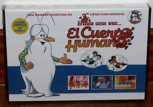 Erase Una Vez El Cuerpo Human The Series Complete 5 DVD Sealed (No Open) R2