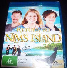 Return to Nim's Island (Bindi Irwin) (Australia Region B) Blu-Ray NEW