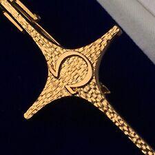 (Necktie Clasp) for Speedmaster/Seamaster Fans Gold (Silver) Omega Tie Pin