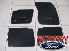 13 thru 16 Fusion OEM Genuine Ford Parts Carpeted Ebony Black Floor Mat Set 4-pc