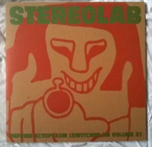 Stereolab - Refried Ectoplasm - Original UK Amber Double Vinyl + Insert (1995)