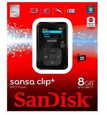 SanDisk Sansa Clip Plus 8GB MP3 Player, FM Radio *NEW*