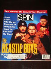 SPIN magazine 1992, Beastie Boys, U2, Henry Rollins, Spinal Tap, James, RARE