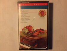 ZUBIN MEHTA Tchaikovsky: Piano concerto - Violin concerto mc cassette k7 UNPLAYD