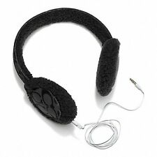 COACH Black Earmuff Headphones (Boxed) - New with Tags