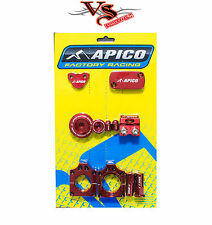 APICO FACTORY BLING PACK KIT HONDA CRF250R 10-17 RED MOTOCROSS MX