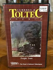 VHS RailRoad Video Tape - Cumbres & Toltec Scenic Freight Train by Pentrex