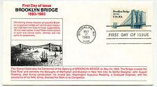 2041 Brooklyn Bridge, Unknown, (red text), FDC