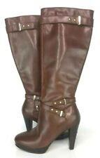 Cole Haan Womens Boots Browm/Golden Buckle Sz 5.5 B G13 D40806 $299.90 EUC
